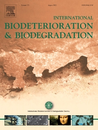 Cover image for International Biodeterioration & Biodegradation