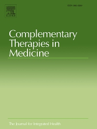 Complementary Therapies in Medicine - ISSN 0965-2299