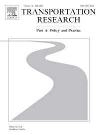 Cover image for Transportation Research Part A: Policy and Practice