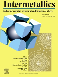 Cover image for Intermetallics