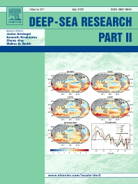 Cover image for Deep-Sea Research Part II: Topical Studies in Oceanography