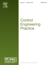 Control Engineering Practice - Journal - Elsevier