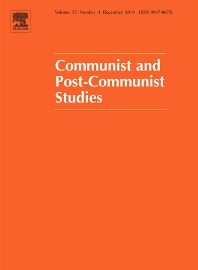 Cover image for Communist and Post-Communist Studies
