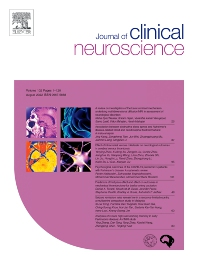 Cover image for Journal of Clinical Neuroscience