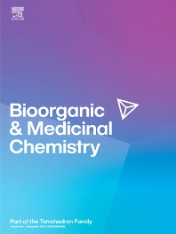 Cover image for Bioorganic & Medicinal Chemistry
