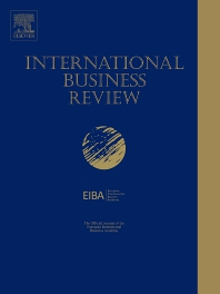 Cover image for International Business Review
