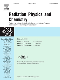 Cover image for Radiation Physics and Chemistry