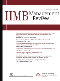 Cover image for IIMB Management Review
