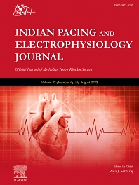Cover image for Indian Pacing and Electrophysiology Journal