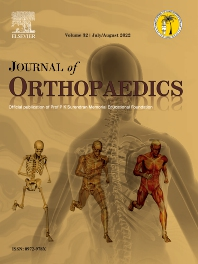 Cover image for Journal of Orthopaedics