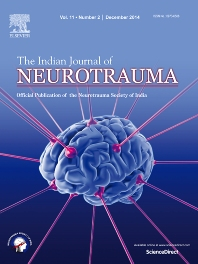 Cover image for The Indian Journal of Neurotrauma