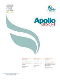 Apollo Medicine - ISSN 0976-0016