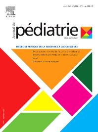 Cover image for Journal de Pédiatrie et de Puériculture