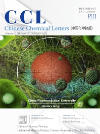 Cover image for Chinese Chemical Letters