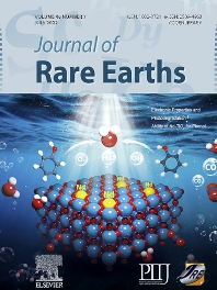 Cover image for Journal of Rare Earths