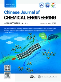 Cover image for Chinese Journal of Chemical Engineering