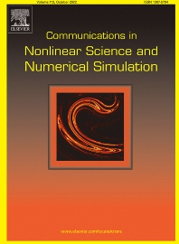 Cover image for Communications in Nonlinear Science and Numerical Simulation