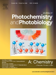 Cover image for Journal of Photochemistry and Photobiology A: Chemistry