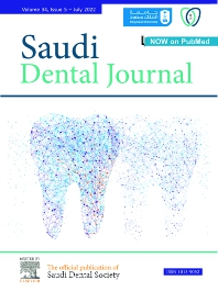 Cover image for Saudi Dental Journal