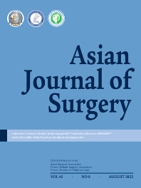 Cover image for Asian Journal of Surgery