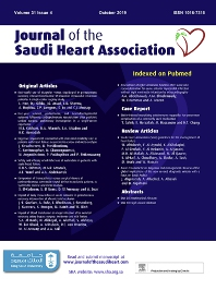 Cover image for Journal of the Saudi Heart Association