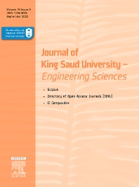 Cover image for Journal of King Saud University: Engineering Sciences
