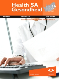 Cover image for Health SA Gesondheid