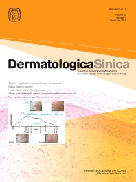 Cover image for Dermatologica Sinica