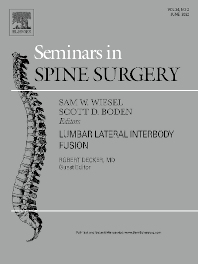 Cover image for Seminars in Spine Surgery