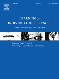 Learning and Individual Differences - ISSN 1041-6080