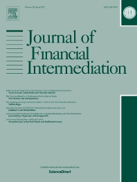 Cover image for Journal of Financial Intermediation