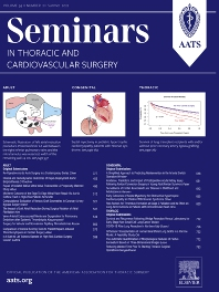 Cover image for Seminars in Thoracic and Cardiovascular Surgery