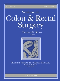 Seminars in Colon and Rectal Surgery - ISSN 1043-1489