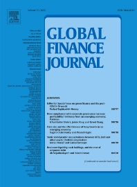 Cover image for Global Finance Journal
