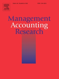 Cover image for Management Accounting Research