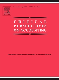 Critical Perspectives on Accounting - ISSN 1045-2354