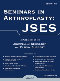 Seminars in Arthroplasty - ISSN 1045-4527
