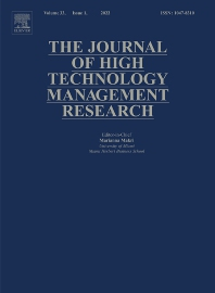 Cover image for The Journal of High Technology Management Research