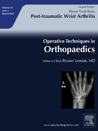 Operative Techniques in Orthopaedics - ISSN 1048-6666