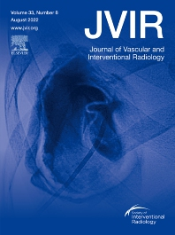cover of Journal of Vascular and Interventional Radiology