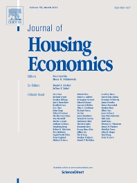 Cover image for Journal of Housing Economics