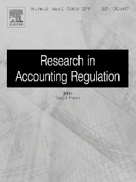 Research in Accounting Regulation - ISSN 1052-0457
