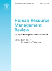 Cover image for Human Resource Management Review