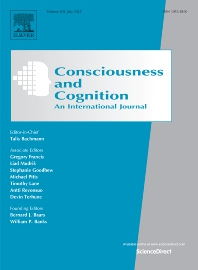 cover of Consciousness and Cognition