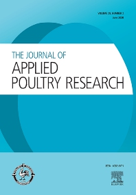 Cover image for Journal of Applied Poultry Research