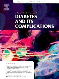 Cover image for Journal of Diabetes and its Complications