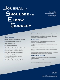 Cover image for Journal of Shoulder and Elbow Surgery