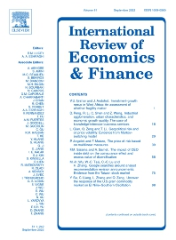 International Review of Economics & Finance - ISSN 1059-0560