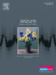 Cover image for Seizure: European Journal of Epilepsy