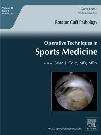 Operative Techniques in Sports Medicine - ISSN 1060-1872